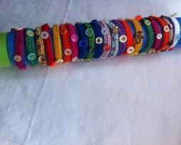 bracciali colorati